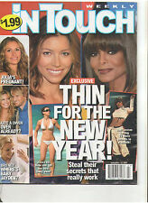IN TOUCH JAN 2007 BRITNEY SPEARS KIDMAN JOLIE LINDSAY LOHAN PARIS KIM KARDASHIAN