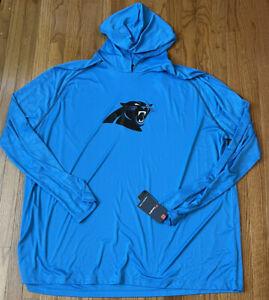 Men's Carolina Panthers Fanatics Branded Primary Logo Tech Hoodie NWT 5XL
