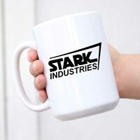 Iron Man Mug Stark Industries Logo Mug Tony Stark Coffee Mug Novelty Ceramic Mug