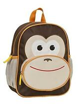 "ROCKLAND MY FIRST BACK PACK JR MONKEY B01-MONKEY Luggage 10"" x 4"" x 12.5"" NEW"