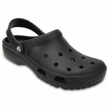 Crocs COAST CLOG Black 204151-001 Classic Sandals Water Shoes 6,7,9,10,11,12,13