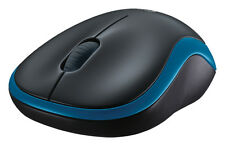 Logitech M185 Wireless Mouse - Bleu