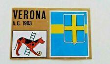 Scudetto Verona Calcio 1971 72  Panini da recupero