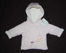 DISNEY BABY manteau blouson bébé rose WINNIE THE POOH, taille 3-6 mois,  neuf
