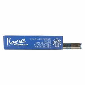 5 Kaweco Ballpoint Pen Refills D1 blue F (0.8)