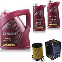 Ölwechsel Set 7L MANNOL Extreme 5W-40 Motoröl + SCT Filter KIT 10196193