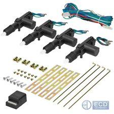 Zentralverriegelung Universal ZV für 2/4 Türer Auto Set 12 V KFZ 4 Stellmotor