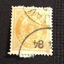 1883 Iceland Postage Stamp Used