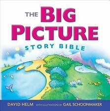 The Big Picture Story Bible by David R. Helm (2014, Hardcover, New Edition)