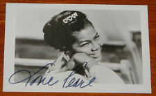 PEARL BAILEY ~ AUTHENTIC NICELY HAND SIGNED AUTOGRAPH VINTAGE POSTCARD