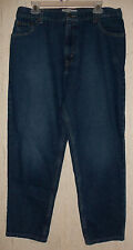EXCELLENT WOMENS Levi Strauss SIGNATURE RELAXED FIT BLUE JEANS  SIZE 16 SHORT