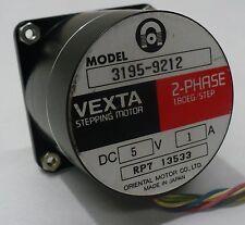 Vexta Model 3195 9212 2 Phase 18 Deg Per Step Stepper Motor Stepping