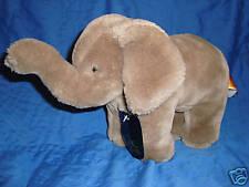 24K Polar Puff Special Effects Plush Elephant Lissa