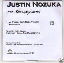 (D683) Justin Nozuka, Mr Therapy Man - DJ CD