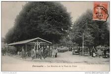 CPA 80 - FORMERIE - LES MARCHES DE LA PLACE DU FRYER - CARTE TRES ANIMEE AVEC PE