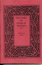 THE DIARY OF ETHEL  H. RUDKIN PART TWO 1931 LINCOLNSHIRE HISTORY