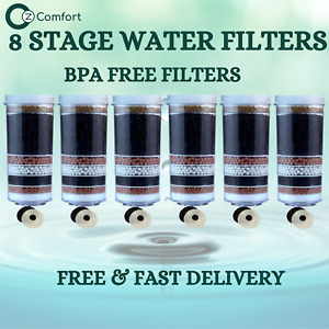 7 8 Stage Water Filter Activated Charcoal Ceramic 6 Aimex Water Filter Cartridge