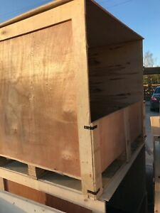 Wooden Pallet Crates for Packing Export Shipping Storage 112 x 100 x 95cm