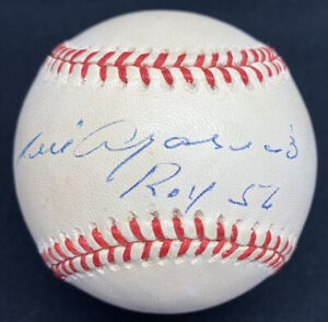 Luis Aparicio ROY 56 Signed Baseball JSA