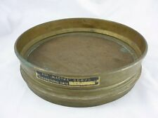 1930' Antique Laboratory Brass Sieve Sifter 8 Wire Mesh