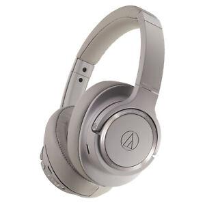 Audio-Technica ATH-SR50BT-BW (White) Wireless Bluetooth Over-Ear Headphones