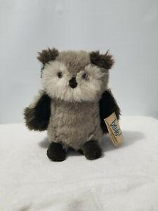 "Applause Bravo 1988 Vintage 10"" Barn Owl Plush Stuffed Animal W Tags"