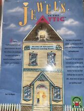 Jewels In The Attic Kids Board Game Discovery Toys New Old Stock Worn Packaging