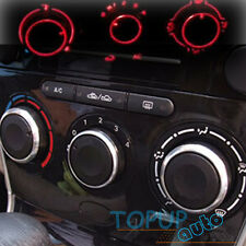 FIT FOR 03-13 VW POLO SWITCH KNOB HEATER CLIMATE CONTROL BUTTONS DIALS FRAME A/C
