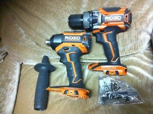 Ridgid Tools R86116VN Hammer Drill/Driver and R86037VN Impact