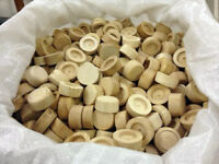 Keystones for Cask Ale, Traditional Wood Faucet Plugs, Environmentally Friendly