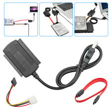 "SATA/PATA/IDE Drive to USB 2.0 Adapter Converter Cable For 2.5""/3.5"" Hard Dri_qi"