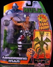 "MARVEL LEGENDS Collection_ABSORBING MAN 7"" action figure_Build FIN FANG FOOM_MIP"