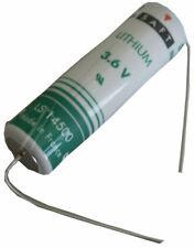 Lithium Battery 2600mAh LS14500CNA SAFT R6 (AA) 3.6 Volts 2 Pins Solder Axial