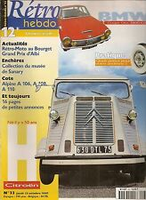 RETRO HEBDO 33 CITROEN TYPE HY 1981 BMW 1600 GT GLAS 1973 VEHICULES MILITAIRES