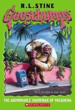 Abominable Snowman of Pasadena (Goosebumps) by Stine, R L Paperback Book The