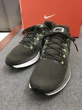 Nike * Air Zoom Pegasus 34 Sequoia Green Black Dark Stucco Running Shoes for Men