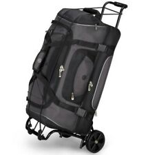 AMERICAN TOURISTER Folding Luggage Cart, BLACK, Bungie Cord Included 75lb Max
