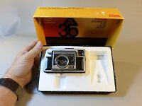 Vintage Kodak Instamatic X 35 w/ Original Box, Manual