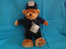 "HARRODS 10"" POLICEMAN BEAR WITH TAG"