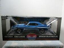 1/18 HIGHWAY 61 / SUPERCAR BLUE 1969 CHEVY YENKO CAMARO #1