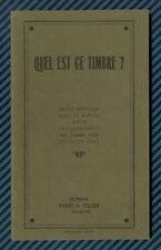 """-= YVERT et TELLIER - """"Quel est ce timbre"""" - circa 1920 =-"""