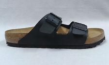 Birkenstock Sandale Pantolette schwarz Arizona Birkoflor Korkfußbett 9007