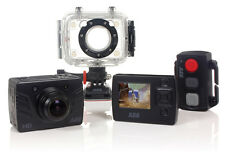 1080p HD Sports Action Camera Dash Cam DVR Waterproof Camcorder 60FPS 8MP BUNDLE