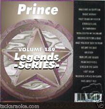 PRINCE Karaoke CDG 14Sg PURPLE RAIN Cream KISS Lets Go Crazy 1999 When Doves Cry