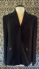 Womens Casual corner Black Jacket ladies Size 16 blazer new with tags