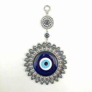 Handmade Wall Hanging - Evil Eye - Nazar Alloy