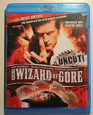 The Wizard of Gore...Blu-Ray....FSK 18