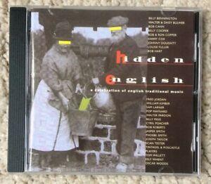 HIDDEN ENGLISH: A CELEBRATION OF TRADITIONAL MUSIC CD (MARTIN CARTHY, FOLK) *NM*