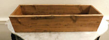 MEDIUM HANDMADE WOODEN BOX, Rustic Provincial Stain, Wooden Crate Box, Storage