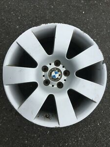 "BMW 5 SERIES E60 E61 18"" ALLOY WHEEL RIM STYLE 123 6760616 GENUINE OEM PART #4"